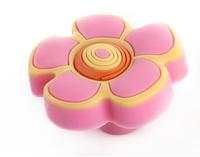 10Pcs/Lot Lovely Children Cabinet Wardrobe Cupboard Knob Drawer Doors Pulls Handles Pink Flower