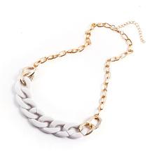 2014 New Fashion Costume CCB Chain Chunky Necklaces & Pendants Choker Necklace Pendants Women men Jewelry