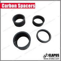 """4 X 2014 New CARBON FIBER HEADSET 5,10,15,20mm Spacers kit 1 1/8"""" For Road MTB BIKE Bicycle cycling Stem"""