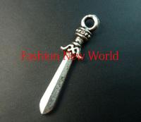 30pcs  sword zinc alloy Charms Antique  Pendant Fit Jewelry making fit C0664-1
