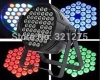 Wholesale - LED Pro Diecasting Light 8 Channels Polished Lens RGBW 54x3W LED Par Can Light