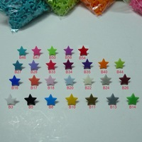 5200 Sets 26 Colors Mix T5 Glossy Star Shaped Kam Snap Buttons