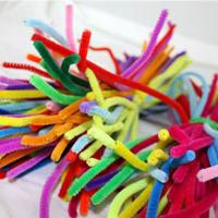 Wisdom Tree Tops nursery handmade hair root shilly- stick material diy making educational toys 100