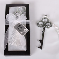 Key to My Heart Wedding Party Gift Bottle Opener Silver With Gift Package Beer Wine Jar Openers Free Shipipng