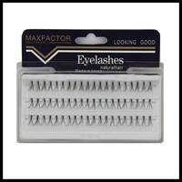 Natural Long 300pcs Individual Eyelash Extension 10/12mm cilios posticos Soft False Eyelashes Eye Lashes Party Makeup Tool