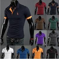 Free Shipping polo shirt Men camisa polo masculina casual shirt men polo aleatory camiseta polo