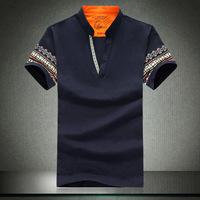 2014 mens short sleeve tee shirts cotton t shirt shirts plus size M L XL XXL XXXL 4XL 5XL free shipping