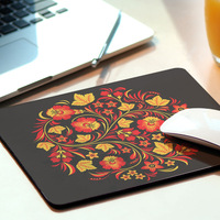 Hot Multi-element Ultra Thin Special Design Mousepad Computer Mouse Pad Mat For Optical Laser Mice Trackball Mouse Chinese Black