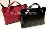 Free shipping ! Factory outlets 2014 new European and American fashion handbags crocodile shoulder bag ladies bag Messenger bag