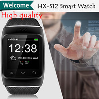 Fanshion Smart Bluetooth Watch WristWatch Wrist Wrap Watch Handsfree For iphone 5 5C 5S Samsung Phone Mate Android