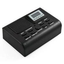 Auto Telephone Recording Box/Phone Voice Recorder/SD Card Phone Recorder LCD Display Clock& Free Shipping(China (Mainland))