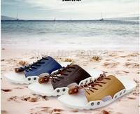England men's sandals summer influx of men genuine leather strap sandals Roman sandals casual sandals hollow breathable