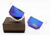 2014 New arrive 60  pcs /lot  madness clear  mens womens retro vitage wayfarer sunglasses  mirrored sunglasses   uv400