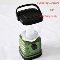 1pc 805C LED Camping Portable Lantern Rechargable With USB Plug 5W + Free Shipping