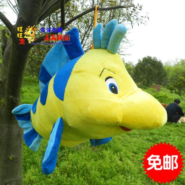 Large Finding Nemo plush toys, flatfish dolls, plush pillow cushions clownfish, home accessories, Free Shipping 45cm(China (Mainland))