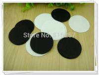 Free shipping 5cm  Round Felt accessory patch circle felt pads,DIY flower material 1000PCS/LOT