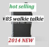 2014 NEW OEM-V85 walkie talkie powerful range  VHF 136-174MHZ  handheld radio hot selling