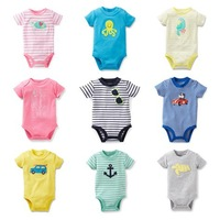 New Arrival Original Carter's Baby Boys Girls Bodysuit, Carters Baby Romper, Free Shipping In Stock