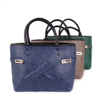 2014 Brand Women handbags 3d pistol bags style fashion High quality handbags big bags