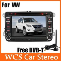 Car Head Unit For VW Seat Skord Series ,2din 800Mhz CPU Car DVD Player styling,audio radio,with built-in DVB-T support DVR