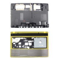 100% New Upper Case Palmrest Bottom Case For Acer Aspire 5251 5551 5741 5741G(two pieces)