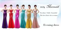 2014 Fashion High quality!New Wedding dress Women Sexy Slim Aline Floor length Lace princess bridal gown Yellow long dress #5013