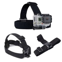 Elastic Headstrap  Adjustable Head Strap Belt for Gopro Hero 3 2 HD Camera