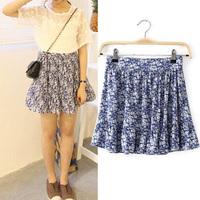 2014 summer women's small Casual fresh elastic waist all-match women's female bust skirt princess  Sweet NJS174