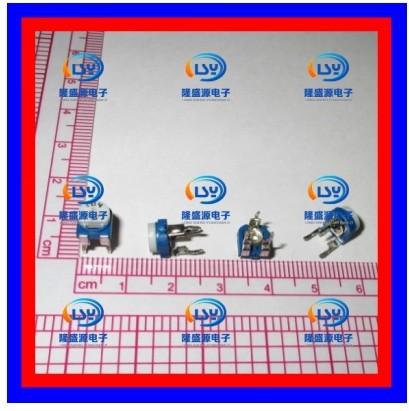 Rm-065-104 100k 104 horizontal blue and white adjustable potentiometer white potentiometer adjustable resistance(China (Mainland))