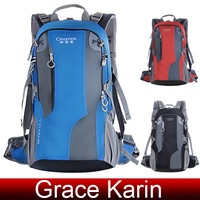 Free Shipping 40L Outdoor Sports Hiking Travel Backpack Daypack Shoulders Bag AL08 Rucksack BG803