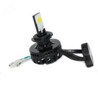 100% Brand New 8-36V 15W Hi/Lo Motorcycle Headlamp 2LED 1650LM Brightness Motorcycle Moto Headlight Bulb High Quality