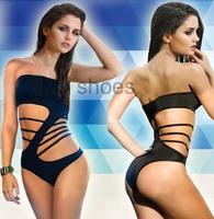 Trendy No Shoulder s Shape Monokini One Piece Bathing Suit Swimsuit Trajes de faits