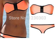orange swimwear promotion