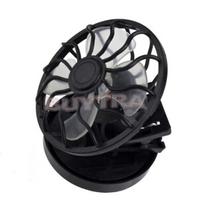 2014 New Fashion Black Solar Fans/Brand Clip-on Emergency Fan/Designer Cheap Mini Air Conditioning Appliances