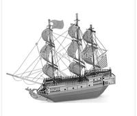 8 Models 3D Metal Puzzle DIY Metal Jiasaw Ferris Wheel,Eiffel Tower,Assemble Toys Models Metallic Nano Puzzle