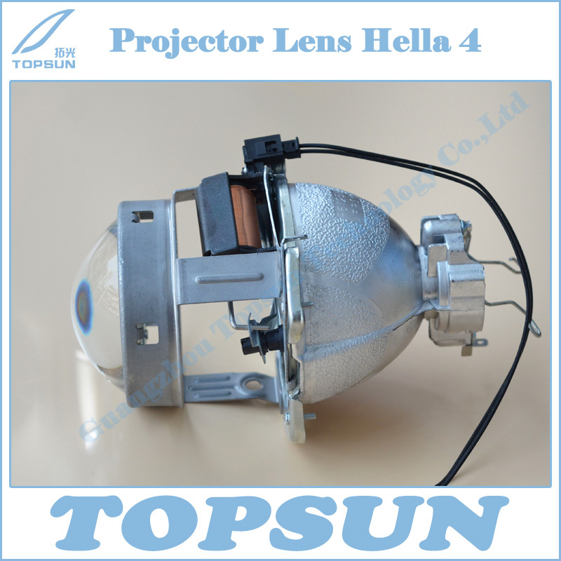Car Light Parts HID Hella 4 Bifocal Projector Lens FOR D2S/ D2R/D2H BULBS FOR AUTO LIGHT(China (Mainland))
