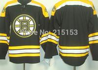 Wholesale Boston Bruins Ice Hockey jerseys Blank Home Bruins Jerseys Stitched
