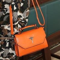 Cat bag fashion vintage 2014 preppy style shoulder bag handbag women's handbag motorcycle bag m37-010