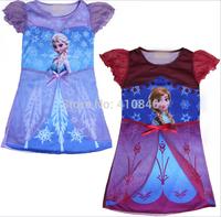 2014 New Cartoon Summer dresses for girl party dress  Princess 20 pcs lot