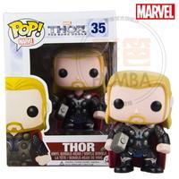 2014 new Funko pop Vario Man 2 Thor Thor Hammer of God Brother Q figurine doll toy