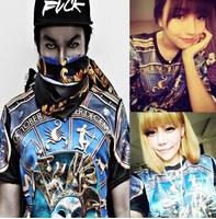Hip hop t shirt fashion 2014 Couple t shirt Hiphop Harajuku shirt Hiphop Punk Rock Loose Casual T shirts DJ-83