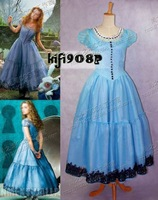 Alice's Adventures in Wonderland Cosplay clothes alice gorgeous formal Long dress costume dropshipping [Custom made available]