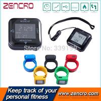 Multi Color Wristband Digital 3D USB Calorie Pedometer Step Counter