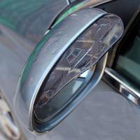 Rearview mirror rain eyebrow | Mirror mirror rain eyebrow flashings | retaining bar mirror rain shield 3M adhesive
