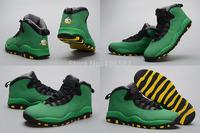 Free Shipping New Model Hot Sale Air Retro 10 X Oregon Ducks World Cup Braz Men's Basketball Sport Footwear Sneaker Shoes