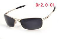 2014 Fashion Sunglasses men Sports Oculos Sun glasses Designer Original Sports Optical Lens Free Shipping cross hair 2.0