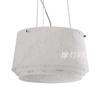 new arrival Acrylic carved louis poulsen Modern Collage Pendant Lamp  D43.6 cm free shipping