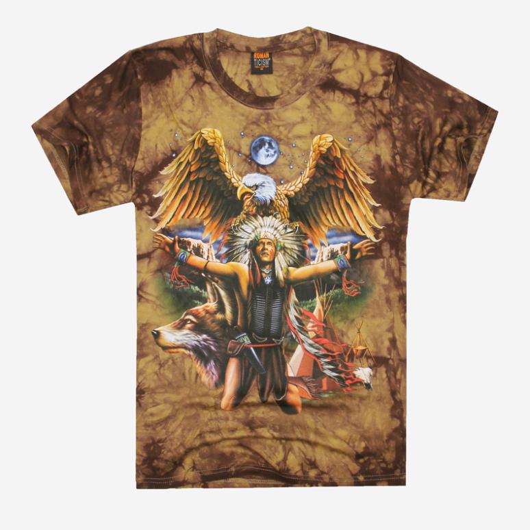 Indian People Eagle 3D T-shirt summer men tee shirt men Rock Tshirts Men's Clothing men sportswear American Style Apparel Animal(China (Mainland))