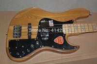 Free Shipping Baixo Marcus Miller Signature F Jazz Bass 4 String Natural Color ACTIVE PICKUPS Bass Guitar