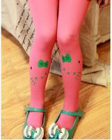 Mini order 1pc baby girl child kids female pantyhose stocking velvet hello kitty cat dance legging